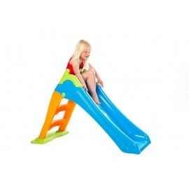 Rutsjebane i plast - 110 cm høj (Elite Toys)