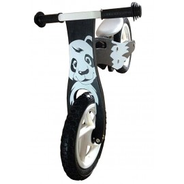 Løbecykel af træ - Panda
