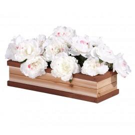 Blomsterkasse til legehus