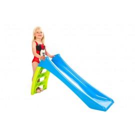 Rutsjebane i plast - 116 cm høj (Elite Toys)