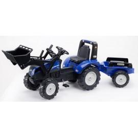 NEW HOLLAND T8 Pedal traktor til børn