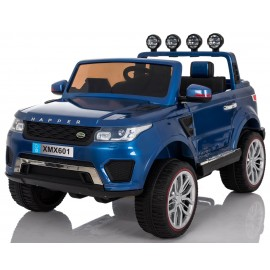 Adventure 4x4 blå - 12v elbil m/ 4x45W motorer