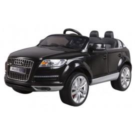 Audi Q7 Elbil til Børn 12V m/2.4G fjernbetjening, Gummihjul