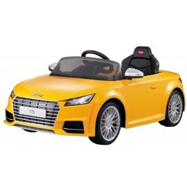 Audi TTS Roadster elbil til børn 12V med fjernbetjening