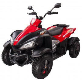 DOOMA EL ATV til børn 12V med gummihjul/støddæmpning