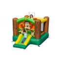 Gorilla Slide And Hoop Bouncer