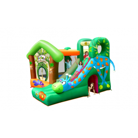 Giraffe Jungle Fun Jumping Castle