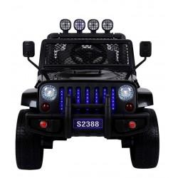 Sport SUV 4x4 12v med gummihjul og fjernbetjening