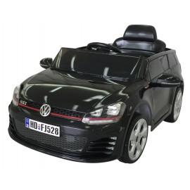 VW Golf GTI ELBil 12V med forældrefjernbetjening