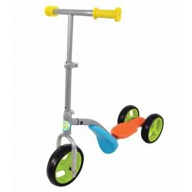 2-i-1 trehjulet løbehjul og løbecykel til børn