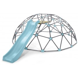 Plum Giant Metal Dome Klatrestativ med rutsjebane
