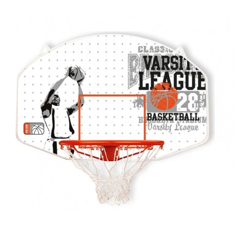 Basketkurv med bagplade - New Port