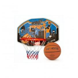Basketkurv med bold og bagplade - My Hood