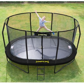 Oval trampolin fra Jumpking