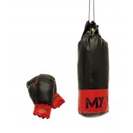 1 kg boksesæk med handsker til børn - My Hood