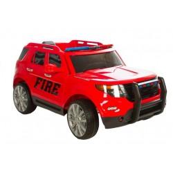 AZENO 12V SUV Fire, Gummihjul