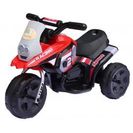 EL Motorcykel til børn 6V, Rød - Racing Sport