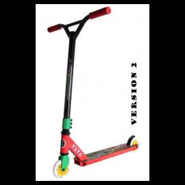 Maui Twister V2 Trick Løbehjul - rød