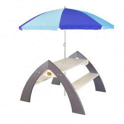 Kylo XL picnicbord med parasol