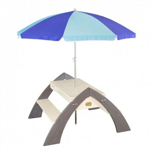 Delta picnicsæt med parasol og opbevaring