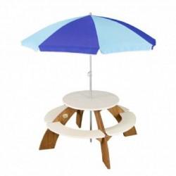 Orion rund bænk med parasol
