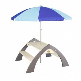 Kylo picnicbord med parasol