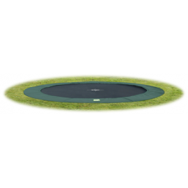 Interra Ground Level - Grøn - rund trampolin til nedgravning