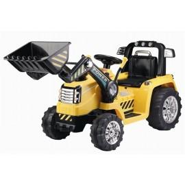 Azeno eldrevet traktor til børn - gul