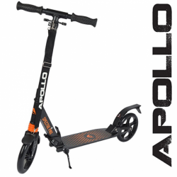 Apollo Spectre 200 mm løbehjul - orange