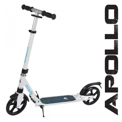 Apollo Spectre 200 mm løbehjul - hvid
