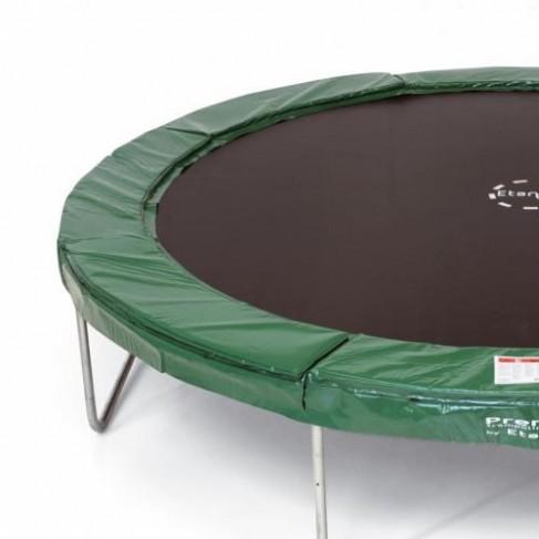 Premium Silver - Rund trampolin sæt (Etan trampolines)