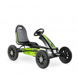 EXIT Spider Race go-kart - grøn/sort
