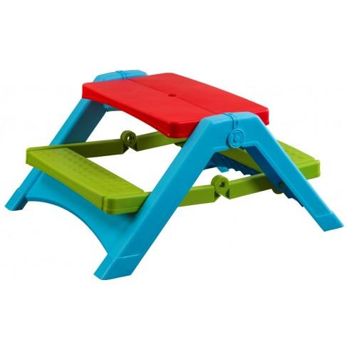 Foldbart campingbord til børn