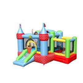 Slottet med kuglerum - hoppeborg