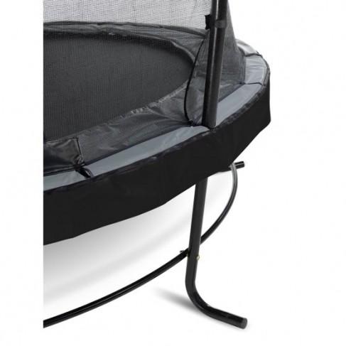 EXIT Elegant Premium trampolin med Deluxe sikkerhedsnet - Ø427cm