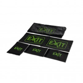 EXIT Maestro net med logo - reservedel til fodboldmål