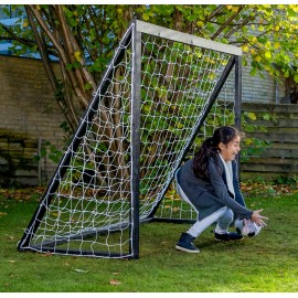 Fodboldmål Pro Senior - 200 x 160 cm Sort
