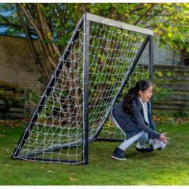 Homegoal Pro Senior sort fodboldmål 200 x 160 cm