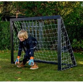 Homegoal Pro Mini Sort fodboldmål 150 x 120 cm