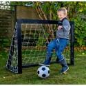 Homegoal Pro Micro Sort fodboldmål 125 x 100 cm