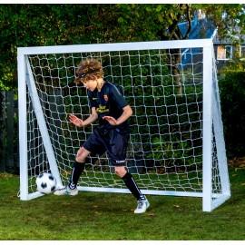 Fodboldmål Pro Senior - 200 x 160 cm - Hvid