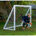 Homegoal Pro Junior Hvid fodboldmål 175 x 140 cm