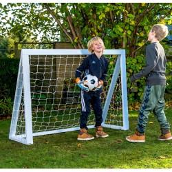Fodboldmål Pro Mini - 150 x 120 cm hvid