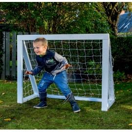 Fodboldmål Pro Micro - 125 x 100 cm - Hvid