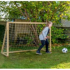 Homegoal Classic Junior Natur fodboldmål 175 x 150 cm
