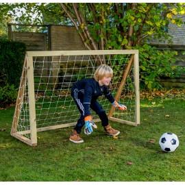 Homegoal Classic Mini Natur fodboldmål 150 x 120 cm