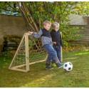 Homegoal Classic Micro Natur fodboldmål 125 x 100 cm