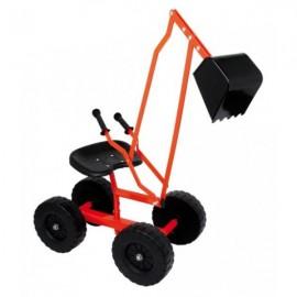 Gravemaskine på hjul