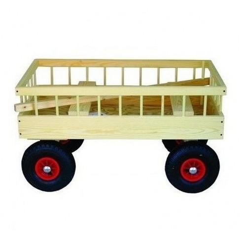 Classic trækvogn til 4 børn
