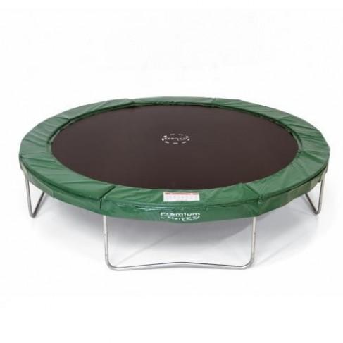 Premium Silver - Rund trampolin (Etan trampolines)